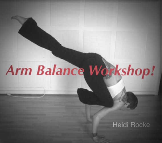 Arm Balance Workshop