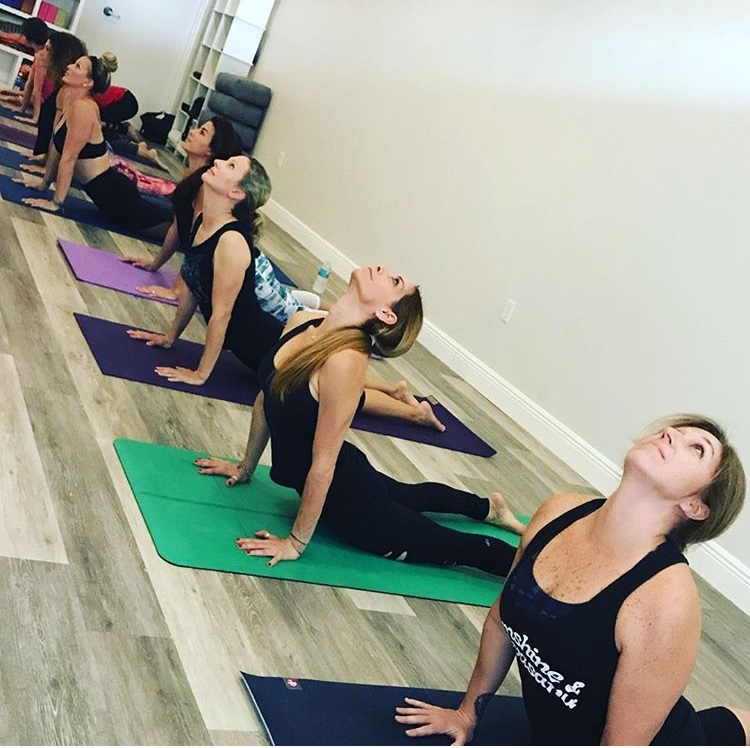 Yoga Students Pushing Their Limits with Hot Yoga
