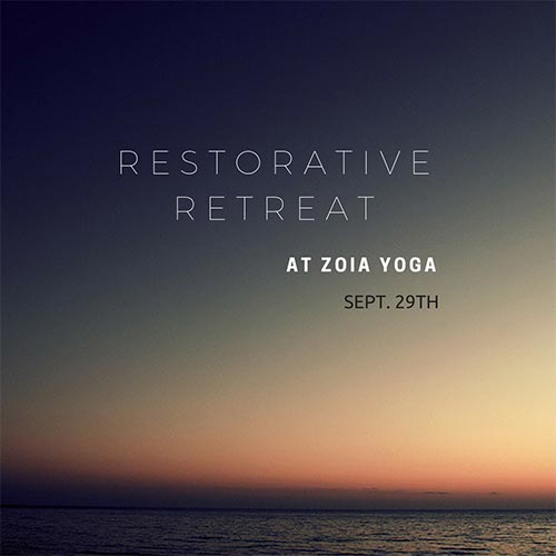 Restorative Retreat